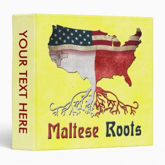 American Maltese Roots Binder