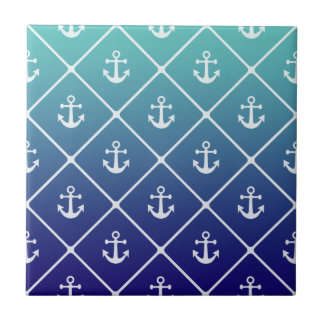 American map flag | nautical stripes pattern tile
