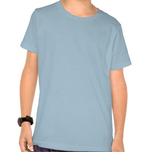 American Marathon Runner Running Shield Retro T-shirt