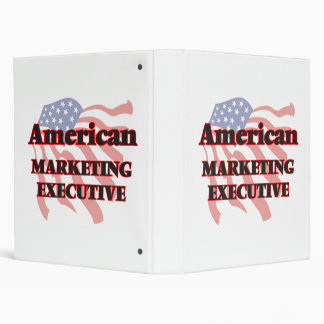 American Marketing Executive Vinyl Binders