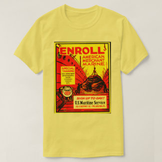 American Merchant Marine-Enroll Today T-Shirt
