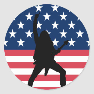 American Metal Sticker