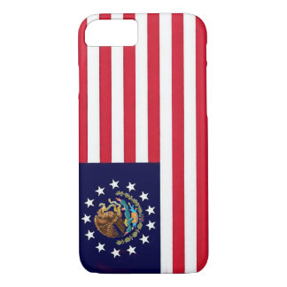 American Mexican Flag iPhone 7 Case