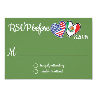 American Mexican Love Response Card