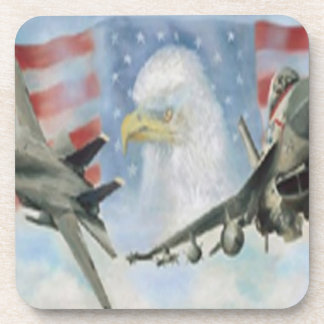 American Military Airplanes Coasters