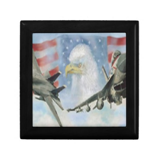 American Military Airplanes Gift Box
