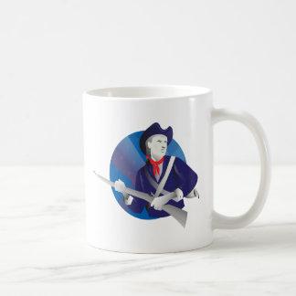 American minuteman revolutionary soldier coffee mug