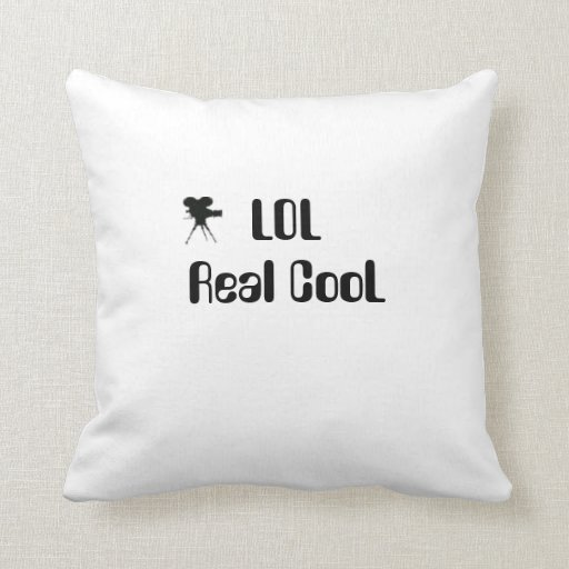 American MoJo Pillows  LOL Real CooL