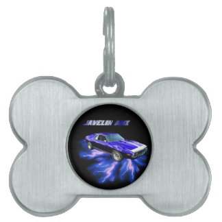 American Motors: Javelin AMX Pet ID Tag