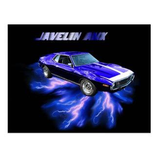 American Motors:  Javelin AMX Postcard