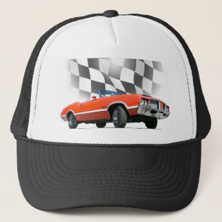 American Muscle 1972 Cutlass 442 Trucker Hat