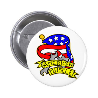 American Muscle Buttons
