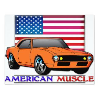 American Muscle Car Card
