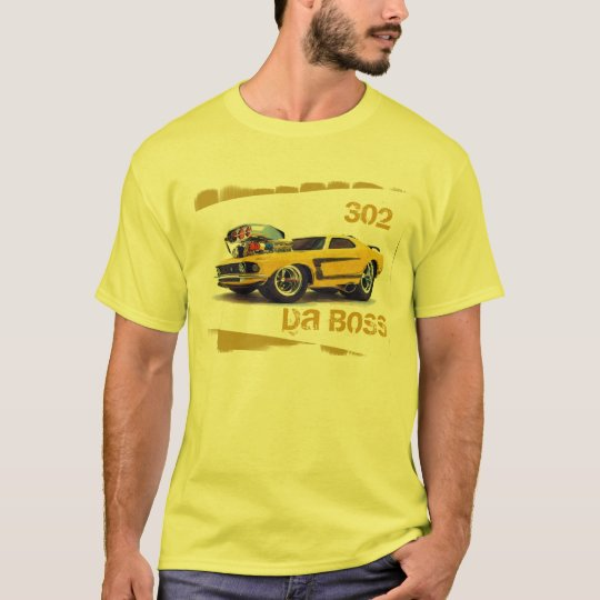 American Muscle, Da Boss T-Shirt