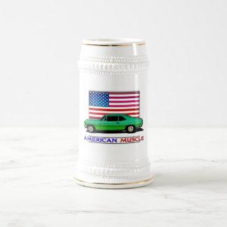American Muscle Hotrod Beer Stein