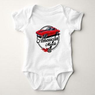 American Muscle Stingray Baby Bodysuit