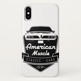American Muscle Trans Am iPhone X Case