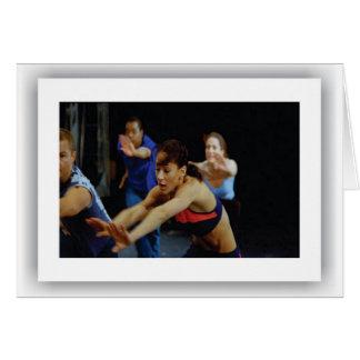 American Music - Dancers, Notecards Card
