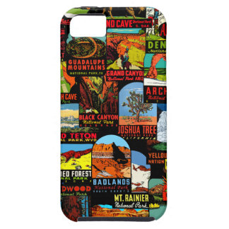 American National Parks Vintage Decal Bomb Case For The iPhone 5
