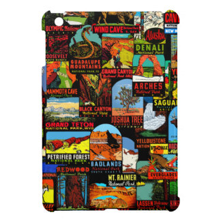 American National Parks Vintage Decal Bomb Cover For The iPad Mini
