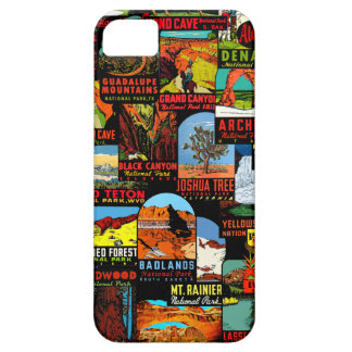 American National Parks Vintage Decal Bomb iPhone 5 Cover