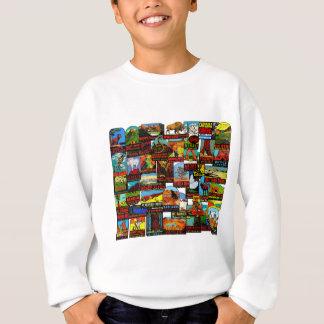 American National Parks Vintage Travel Decal Bomb Sweatshirt
