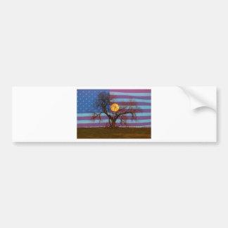 American November Supermoon Bumper Sticker