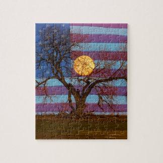 American November Supermoon Jigsaw Puzzle