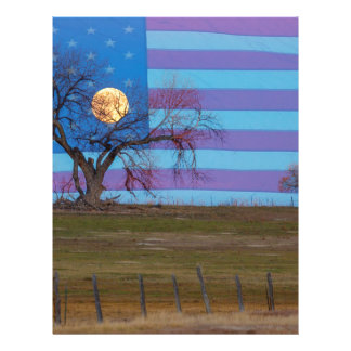American November Supermoon Letterhead