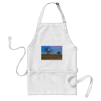 American November Supermoon Standard Apron