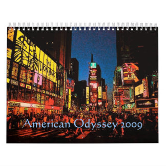 American Odyssey Calendar - Custom... - Customized