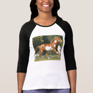 American Paint Horse, 100% Horse Lover Tshirts