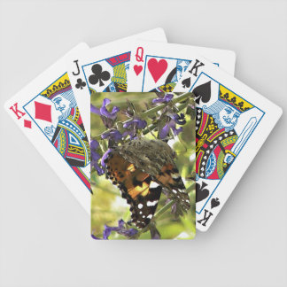American Painted Lady Butterfly Gaming Cards Card Decks