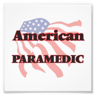 American Paramedic Photo Print