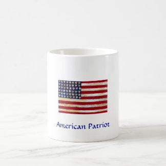 American Patriot Basic White Mug