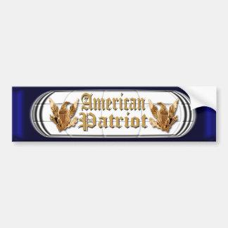 American Patriot Bumper Sticker
