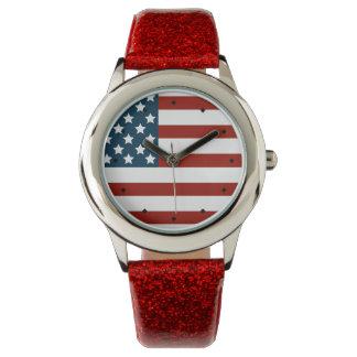 American Patriot Contemporary Watch