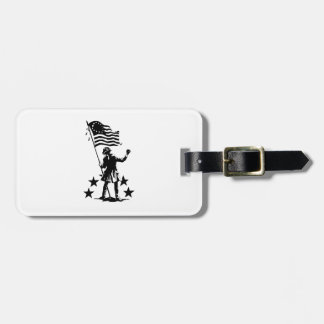 American Patriot Tags For Luggage