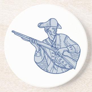 American Patriot Minuteman Rifle Mono Line Coaster