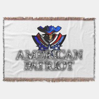 American Patriot Throw Blanket