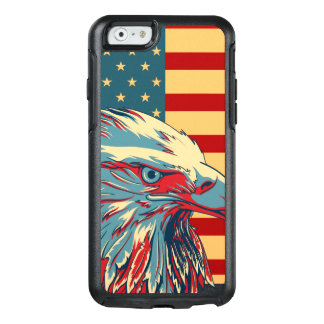 American Patriotic Eagle Flag OtterBox iPhone 6/6s Case
