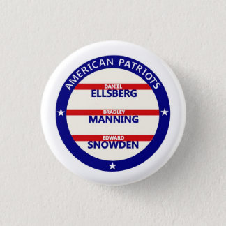American Patriots 1 Inch Round Button