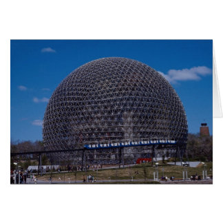 American Pavilion, Expo 1967, Montreal, Quebec, Ca Greeting Card