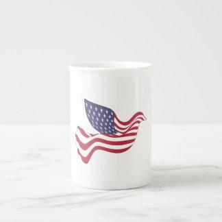 AMERICAN PEACE DOVE TEA CUP