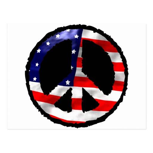 American Peace Postcard