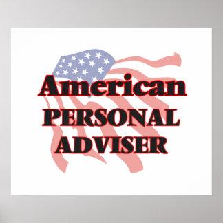 American Personal Adviser Poster