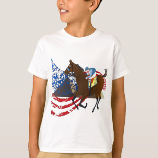 american pharaoh  horse racing design T-Shirt