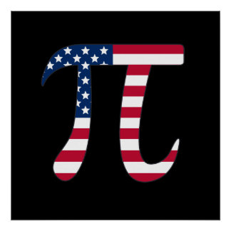American Pi Posters