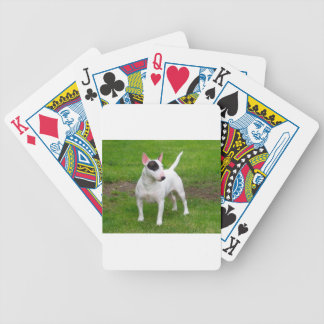 American Pit Bull Terrier Dog Bicycle Playing Cards