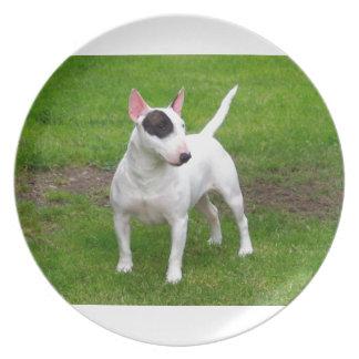 American Pit Bull Terrier Dog Dinner Plate